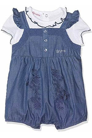 Brums Baby Girls Completo 2 Pezzi Con Salopette Chambray Clothing Set