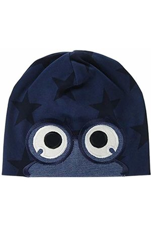 Green Cotton Baby Boys' Star Peep Beanie Hat