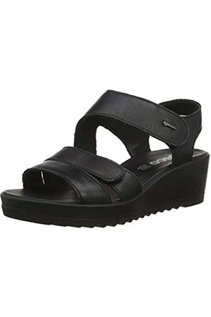 IGI &CO Women's DCY 31718 Platform Sandals, (Nero 3171800)