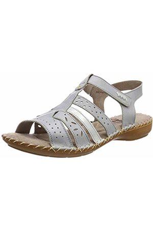 Jana Women's's 8-8-28123-22 Ankle Strap Sandals Lt. 204