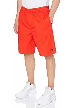 Tommy Hilfiger Men's Tjm Basketball Short (Flame Scarlet 667)