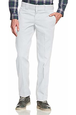Dickies Men's Slim Straight Work Pant Trousers, ( Wh)