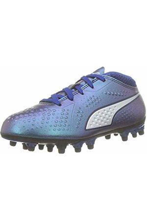Puma Kids ONE 4 Syn AG Jr Footbal Shoes, Blau (Sodalite - -Peacoat 03)