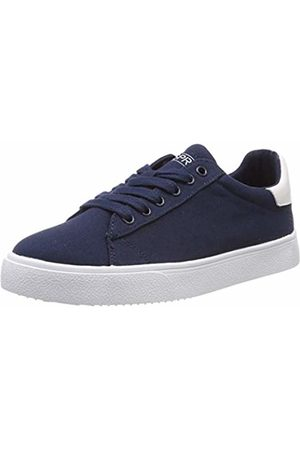 Esprit Women Trainers - Women's's Cherry Lu Low-Top Sneakers (Navy 400) 6 UK