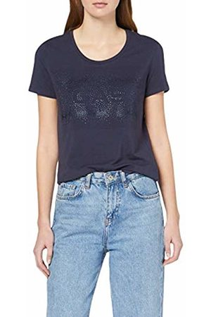 GAS Jeans Women's's Doll Shiny-matt T-Shirt Ink Dream 3760