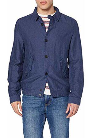 Springfield Men's 9jp-sobrecamisa Lino Jacket (Gama Azules 14) Medium