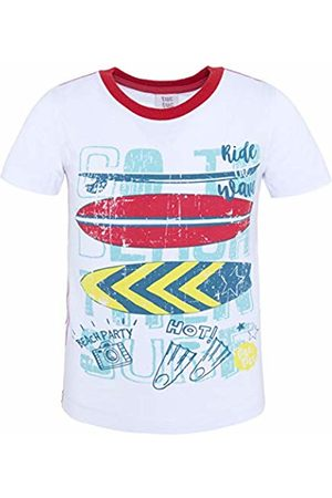Tuc Tuc Boy's Camiseta Punto Blanca Niño Summer Surfers Clothing Set