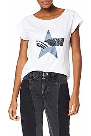 GAS Jeans Women's Jusye Star T-Shirt, ( 0001)