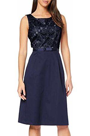 Daniel Hechter Women's's Feminine Lace Dress (Midnight 690) 6 (Size: 32)
