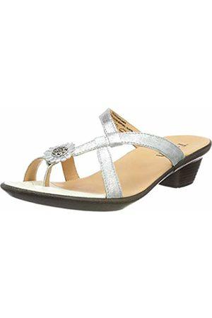 Think! Women's Nanet_484528 Flip Flops (Silber 04) 4 UK