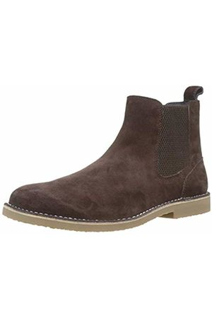 Joules Men's Halmore Chelsea Boots, (Dark Dkbrown)
