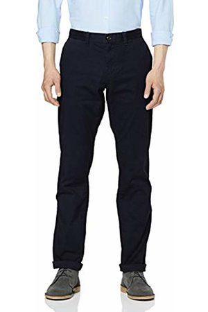 Tommy Hilfiger Men's Regular Mercer Chino Org Str TWL Trouser (Sky Captain 403) W31/L32 (Size: 3231)
