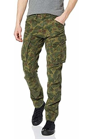 G-Star Men's Rovic 3D Straight Tapered Trousers (Sage/Battle Ao A954-A055) W36/L32 (Size: 36W/ 32L)