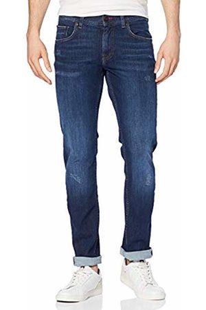 Tommy Hilfiger Men's Straight Denton 2STR ARFEW Jeans, Blau 911