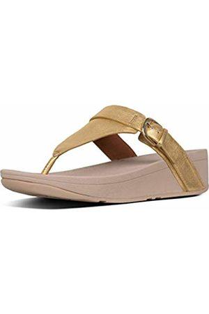 FitFlop Women's Buckle Strap Zoe Toe Post Open Sandals, (Artisan 667)