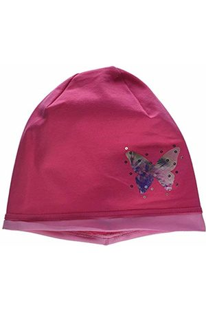 maximo Girl's Beanie, Jersey, Mit Rollrand, Bügelmotiv Hat