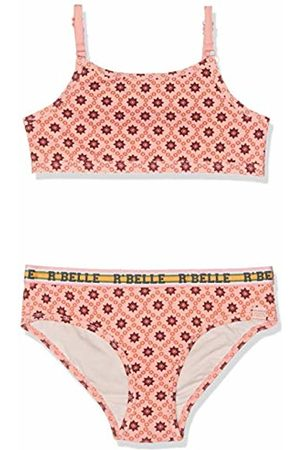Scotch&Soda R´Belle Girl's Allover Printed Bikini with Sporty Elastic (Combo N 593)