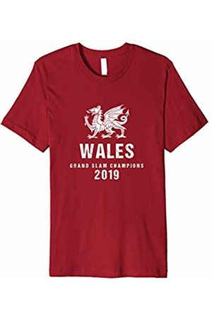 Roll over image to zoom in Wales rugby t shirt gra Wales rugby t shirt grand slam champions 2019