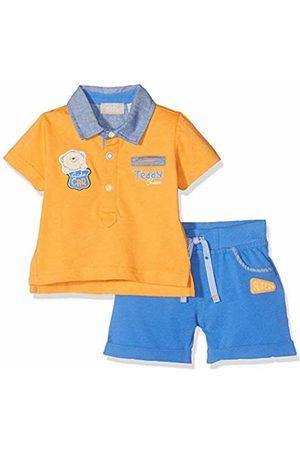 chicco Baby Boys' Completo Polo Manica Corta + Pantaloncini Shirt
