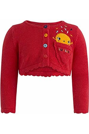 Tuc Tuc Baby Girls' Chaqueta Tricot Ni\u00d1a Cute Ice Jacket (Rojo 3) 30 (Size: 12M)