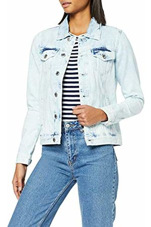 Tommy Hilfiger Women's Regular Trucker Jacket ANGLBR Denim
