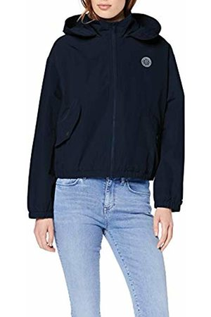 Tommy Hilfiger Women's SABA Short Packable Windbreaker Rain Jacket (Midnight 403) M