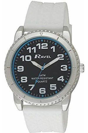 Ravel Men's 5ATM Quartz Watch with Dial Analogue Display and Silicone Strap R5-20.4G
