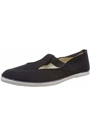Beck Men's's Basic Multisport Indoor Shoes (Schwarz 02) 3 UK