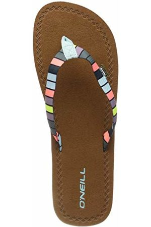 O'Neill Women's Fw Woven Strap Sandals Shoes & Bags, ( AOP W/ or 6940)