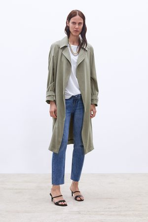 Zara Flowing trench coat with pockets