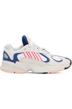 adidas Women Trainers - Yung-1 Mesh & Suede Sneakers