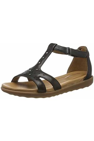 Clarks Un Reisel Mara Leather Sandals in Standard Fit Size 7
