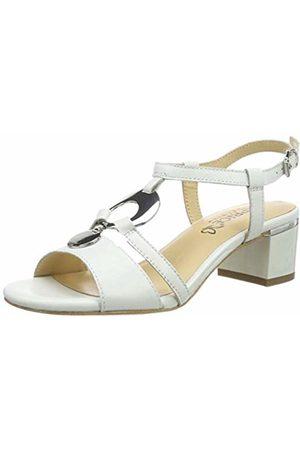 Caprice Women's Arielle Ankle Strap Sandals, ( Perlato 139)
