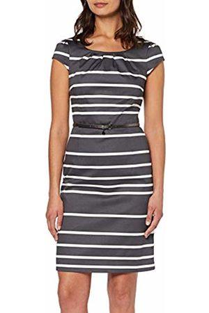 Comma, Women's 81.903.82.4958 Dress, Mehrfarbig Stripes 96g8
