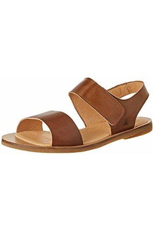 El Naturalista Women's Nf30 Vaquetilla Caramel/Tulip Open Toe Sandals