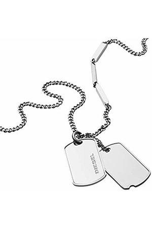 Diesel Men Stainless Steel Pendant Necklace - DX1173040