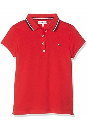 Tommy Hilfiger Girls Polo Shirts - Girl's Essential Polo S/s Shirt, (True 635)