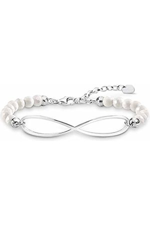 Thomas Sabo Women-Bracelet Infinity Love Bridge 925 Sterling silver LBA0125-130-14-L19v