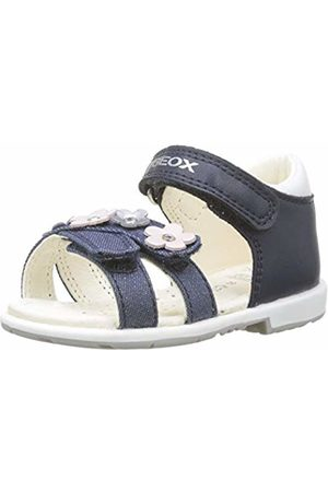 Geox Baby Girls' B Verred C Sandals (Navy C4002) 9 UK Child