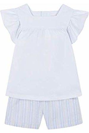 Gocco Girl's Piajam Combinado Pyjama Sets (Blanco Wa) 140 (Size: 9-10)