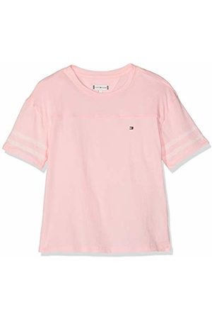 Tommy Hilfiger Girl's Sporty Mesh Tape S/s Tee T-Shirt