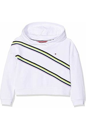 Tommy Hilfiger Girl's Knitted Tape Hoodie Bright 123