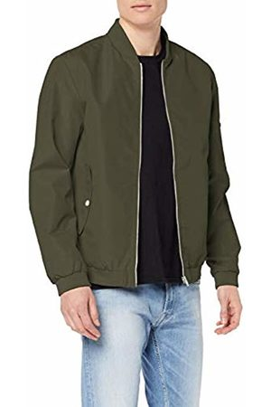 Jack & Jones NOS Men's JJEDESERT Bomber NOOS Jacket, Grün Dusty Olive