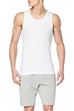 Schiesser Men's Long Life Cotton Shirt 0/0 Vest