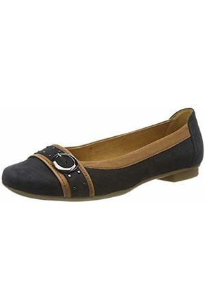 037f2c0771d8 Gabor Shoes Women's Casual Ballet Flats (Nightblue/Cognac 16) ...