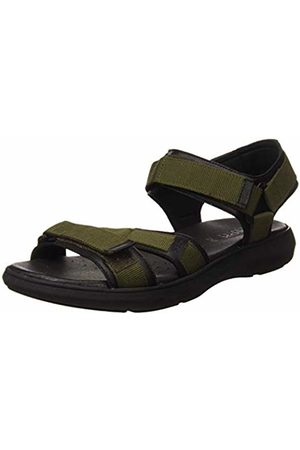 Geox Men's U Goinway B Open Toe Sandals (Military/ C0498) 9 UK