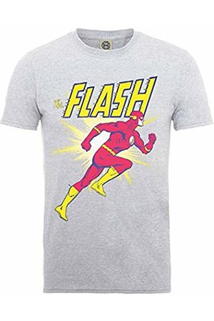 Rockoff Trade DC Comics Men's Originals Flash Running T-Shirt