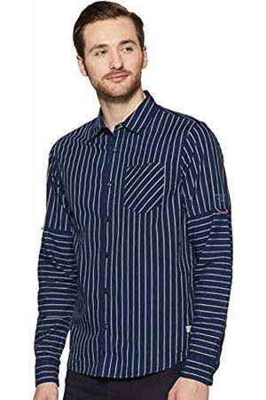 Scotch&Soda Men's's Regular Fit- Shirt with Sleeve Roll-up Casual