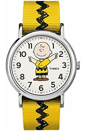 Timex Unisex Adult Analogue Classic Quartz Watch with Nylon Strap TW2R41100