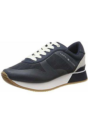 Tommy Hilfiger Women's Tommy Jacquard City Sneaker Low-Top
